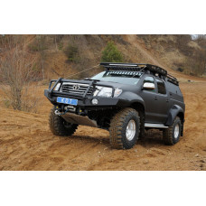 Алюминиевый передний силовой бампер KDT для Toyota Hilux Arctic Trucks 2005-2015