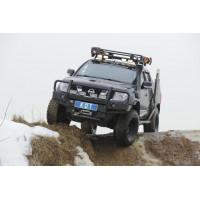 Передний силовой бампер KDT для Nissan Navara D40 и Pathfinder R51