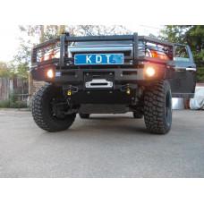 Защита передней оптики KDT для бампера Toyota FJ Cruiser