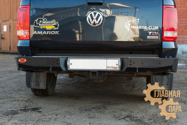 Задний силовой бампер OJ 03.135.11 для Volkswagen Amarok