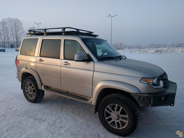Багажник экспедиционный УНИКАР для УАЗ 3163 Патриот
