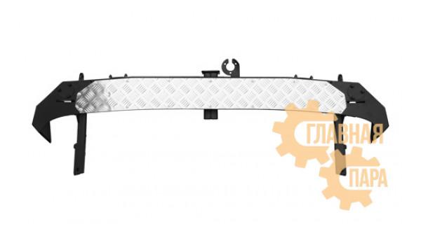 Задний силовой бампер OJ 03.105.01 для Нива с квадратом под фаркоп