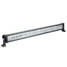 Двухрядная LED балка CH008 дальний белый + ближний желтый мощность 36-300W длина 26-139 см, светодиоды 3W