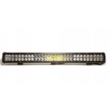 Двухрядная LED балка CH019B комбинированного света, мощность 54-288W, длина 23-132 см, светодиоды 3W