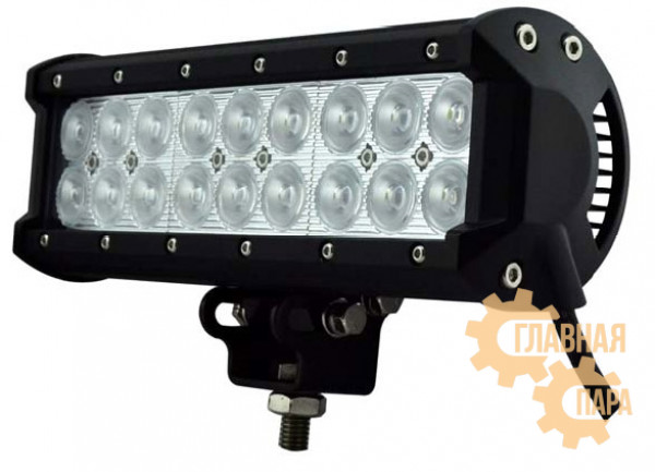 Двухрядная LED балка РИФ дальнего света, мощность 18-234W, длина 10-92см, светодиоды CREE 3W