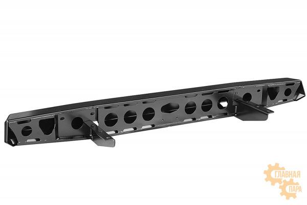 Бампер силовой задний РИФ для УАЗ Буханка без квадрата под фаркоп, стандарт