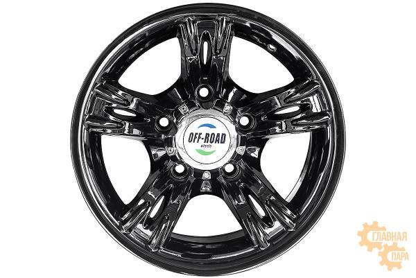 Диск УАЗ литой черный 5x139,7 8xR15 d108,2 ET-25