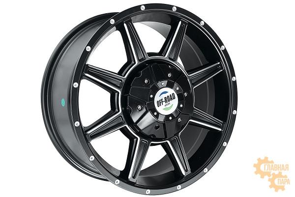 Диск Тойота литой черный 5x150 8xR18 d110 ET+30
