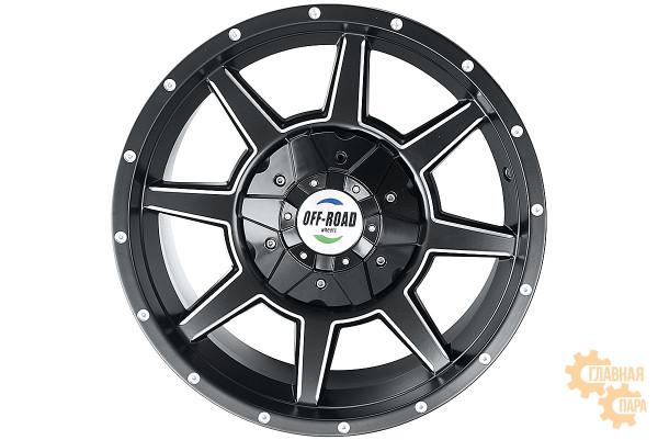 Диск Тойота литой черный 5x150 8,5xR17 d110 ET+30
