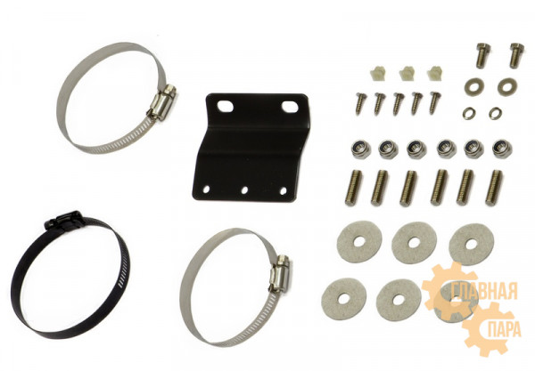 Шноркель СТОКРАТ для Toyota Hilux 2005-2015 бензиновый двигатель 1GR-FE