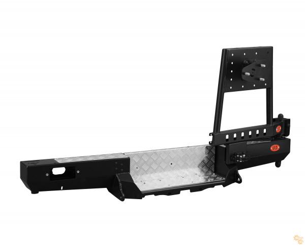 Задний силовой бампер OJ 03.101.22 для УАЗ Буханка с возможностью установки лебёдки