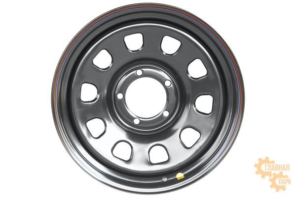 Диск усиленный УАЗ, ГАЗ Соболь, Dodge Ram 1500 стальной черный 5x139,7 8xR18 d110 ET+15