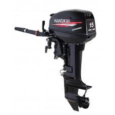 Подвесной лодочный мотор HANGKAI мощность 15 л.с. двухтактный