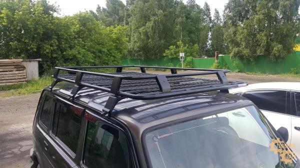 Багажник УНИКАР для ВАЗ-2131 сварной с сеткой на 6-и опорах