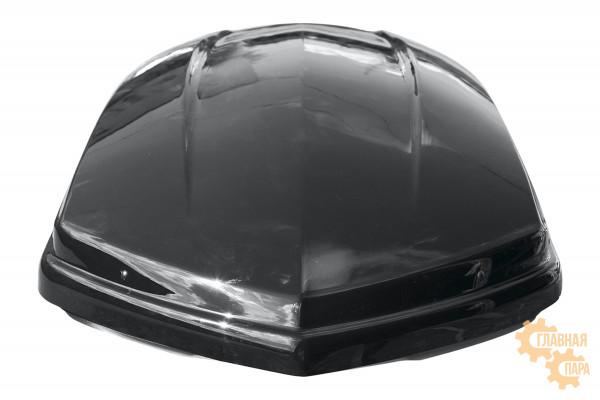 Бокс на крышу РИФ Спорт 420 л черный глянец, двухсторонний