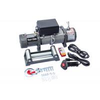 Лебёдка электрическая 12V Electric Winch 12000 lbs 5443 кг (влагозащищенная + радиатор охлаждения)