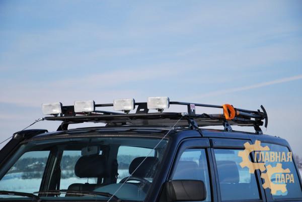 Багажник экспедиционный РИФ 1200x1900 мм УАЗ Патриот 2005+