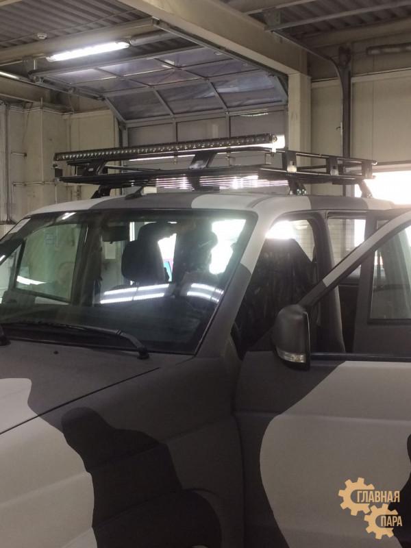 Багажник РИФ на УАЗ Патриот Пикап