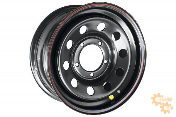 Диск усиленный УАЗ стальной черный 5x139,7 7xR16 d110 ET+30