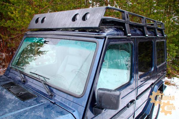 Багажник экспедиционный АМЗ на Mercedes-benz G-класс