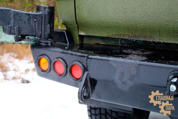 Задний силовой бампер АМЗ на Toyota Land Cruiser 80