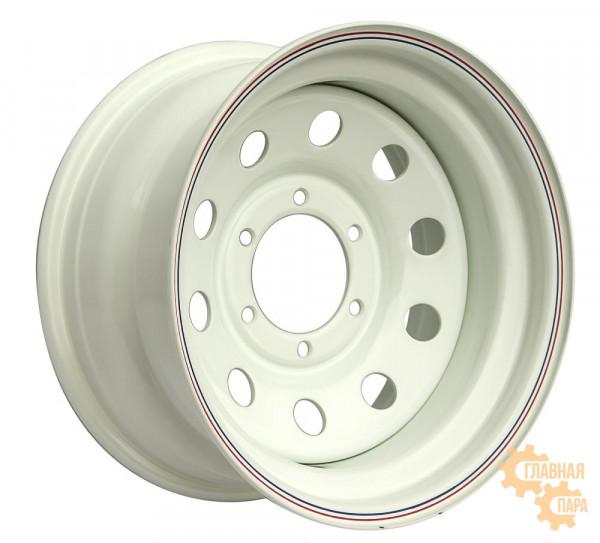 Диск усиленный стальной белый 6x139,7 8xR16 d110 ET-25
