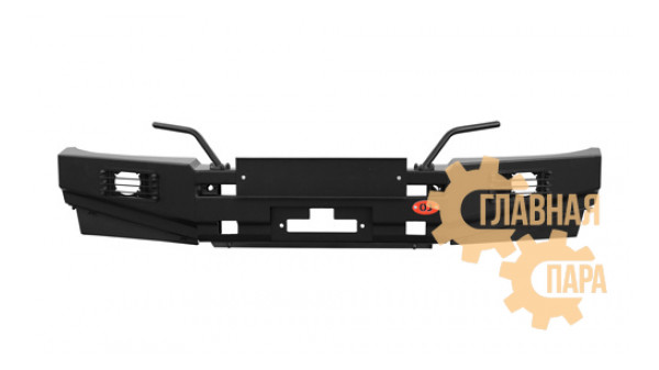 Бампер передний силовой OJ 02.121.03 для Mitsubishi L200 2005-2015 / Pajero Sport 2 + доп. опции