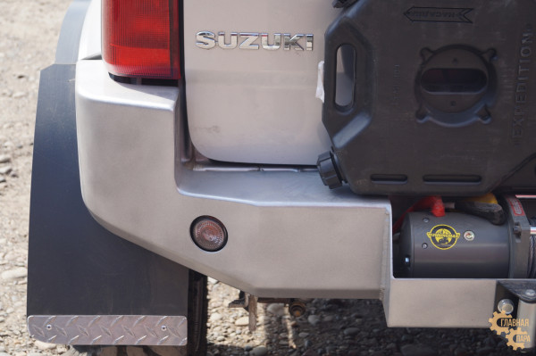 Бампер задний силовой Вездеходофф на Suzuki Jimny