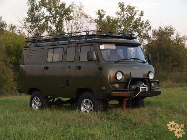 Багажник экспедиционный для автомобиля УАЗ Буханка
