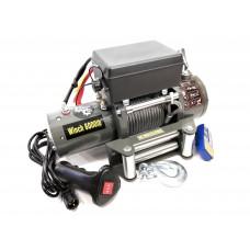 Лебедка электрическая 12V Electric Winch 6000lbs / 2722 кг влагозащищенная