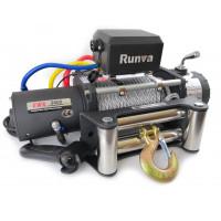 Лебёдка электрическая 12V Runva EWX9500S lbs 4350 кг стальной строс