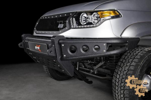 Бампер силовой передний BMS BAIKAL для УАЗ Патриот