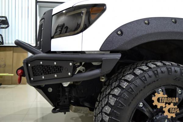 Бампер силовой передний BMS ALFA для Тойота Тундра 2007-2013