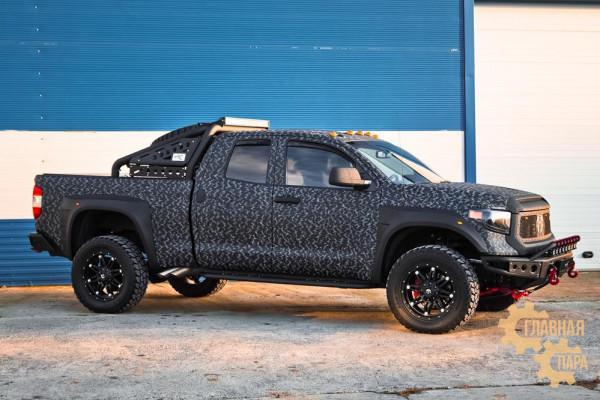 Бампер силовой передний BMS ALFA для Тойота Тундра 2014-2020