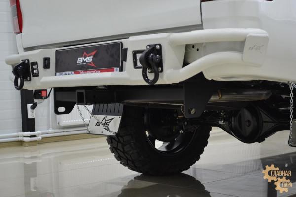 Бампер силовой задний BMS ALFA для Тойота Хайлюкс Рево 2015-2020