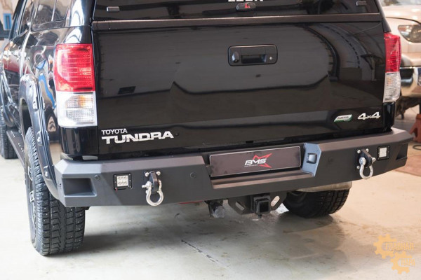 Задний силовой бампер BMS для Toyota Tundra 2007-2013