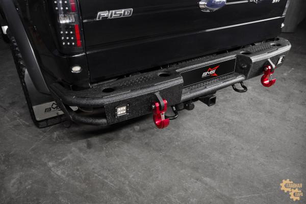 Бампер силовой задний BMS ALFA для Форд F-150 Раптор 2009-2014