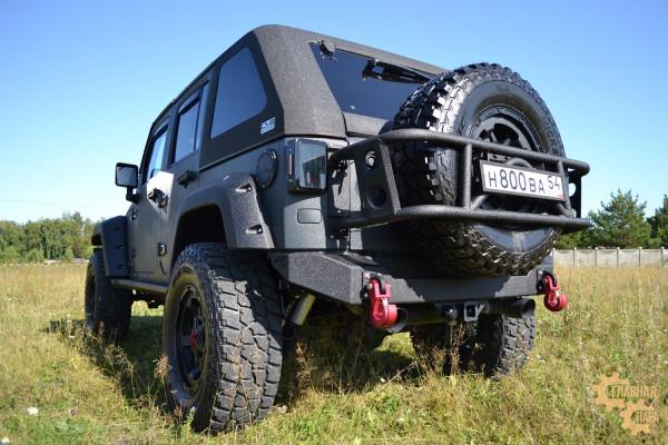 Задний силовой бампер BMS для Jeep Wrangler JK