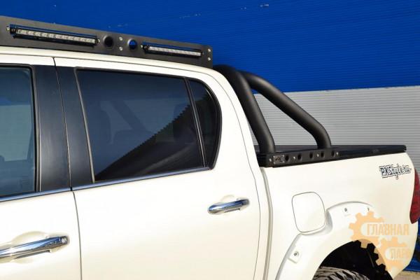 Дуга на кузов из трубы 76 мм  для Toyota Hilux 2010+