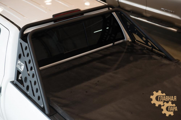 Дуга на кузов из трубы Toyota Tundra (Doublecab) 2007+
