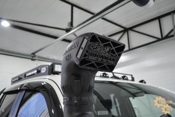 Багажник алюминиевый на крышу Toyota Hilux REVO (2015+) сетка