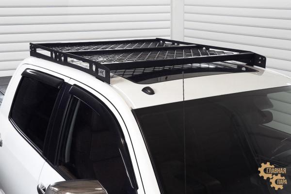 Багажник алюминиевый на крышу Toyota Tundra 2007+ сетка