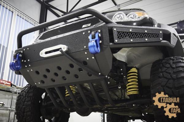 Защита рулевых тяг BMS УАЗ Патриот