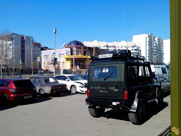 Багажник экспедиционный ЕВРОДЕТАЛЬ для УАЗ 3151 Хантер с сеткой