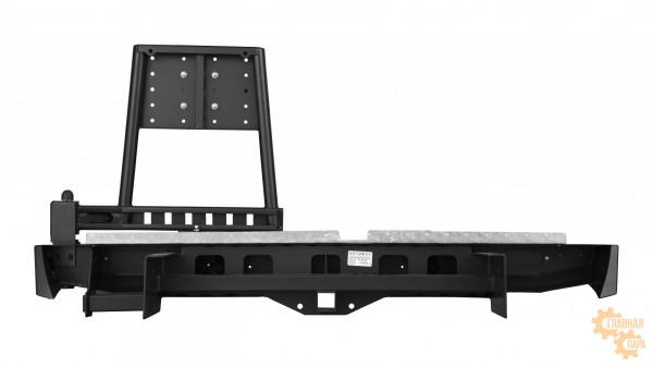 Задний силовой бампер OJ 03.168.02 для Nissan Navara D40 2010-1015
