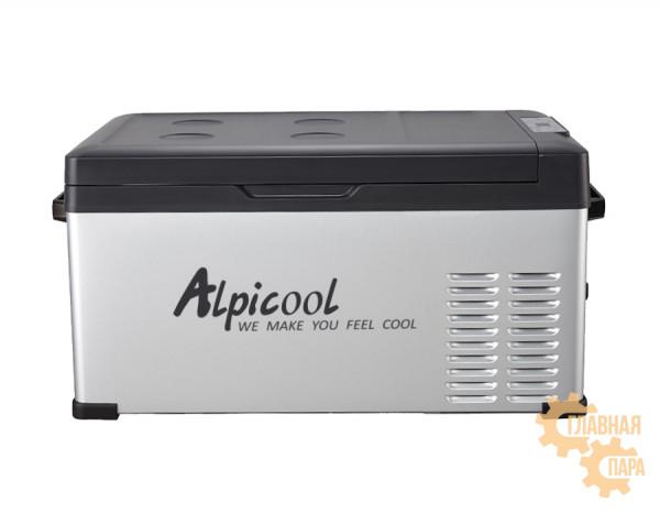 Kомпрессорный автохолодильник ALPICOOL С-25 л, 12/24/220В (крышка на магнитах)