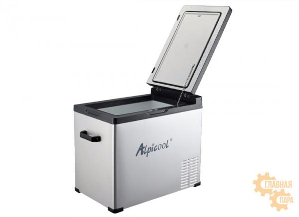 Kомпрессорный автохолодильник ALPICOOL С-50 л, 12/24/220В (крышка на магнитах)
