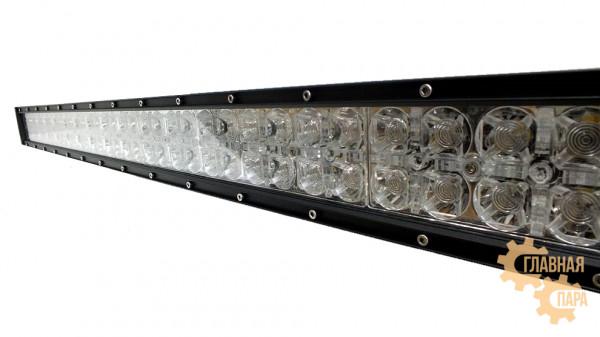 Двухрядная LED балка комбинированного света BM03 мощность 60-300W длина 30-132 см светодиоды 3W