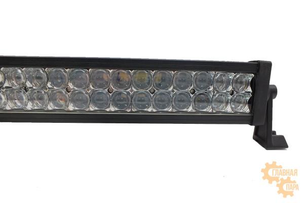 Двухрядная LED балка сверх-дальнего света CH008 мощность 36-300W длина 26-138см светодиоды 3W линзы 5D