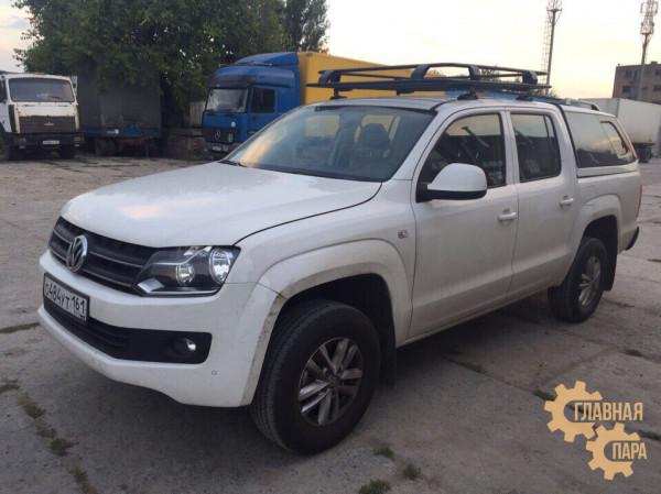 Багажник экспедиционный ЕВРОДЕТАЛЬ для Volkswagen Amarok